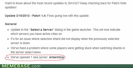 wtf,antarctica,sim city 4