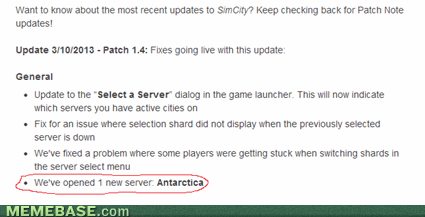 wtf antarctica sim city 4 - 7127557888