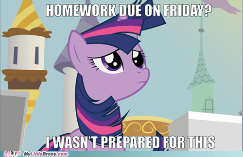 homework twilight sparkle I wasn't prepared for this - 7127575552