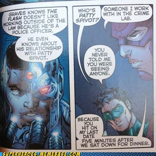 cyborg girlfriend Green lantern flash - 7127577344