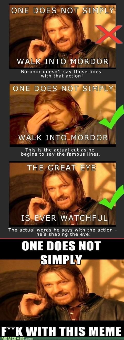 one does not simply - 7127755776