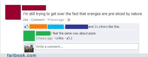 pizza,oranges,vegetable
