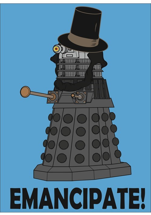 abraham lincoln daleks for sale doctor who - 7128382208