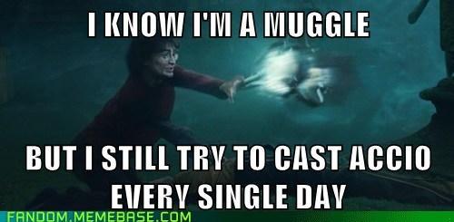 Harry Potter accio muggles - 7128424448