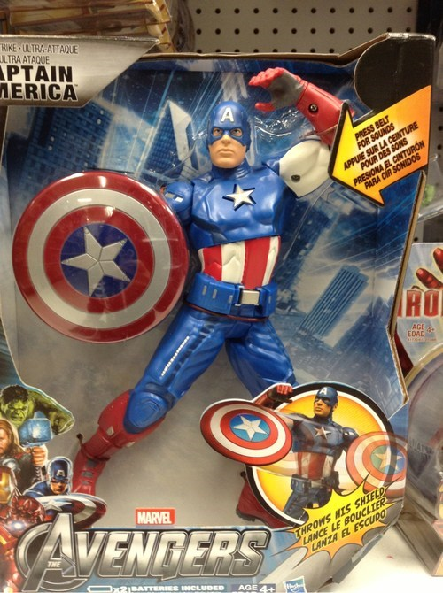 fancy pose toys captain america