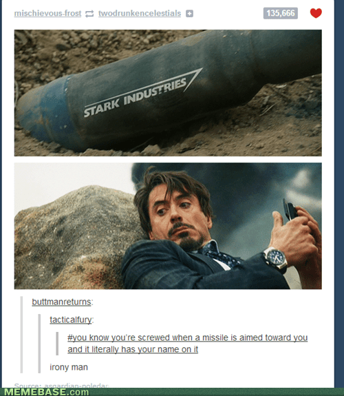 tony stark iron man irony - 7128965120