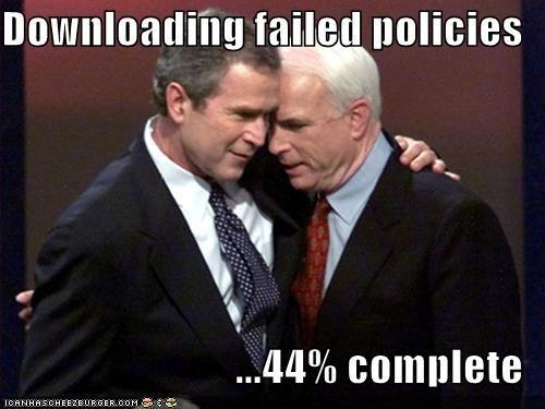 george w bush john mccain president Republicans - 712966400