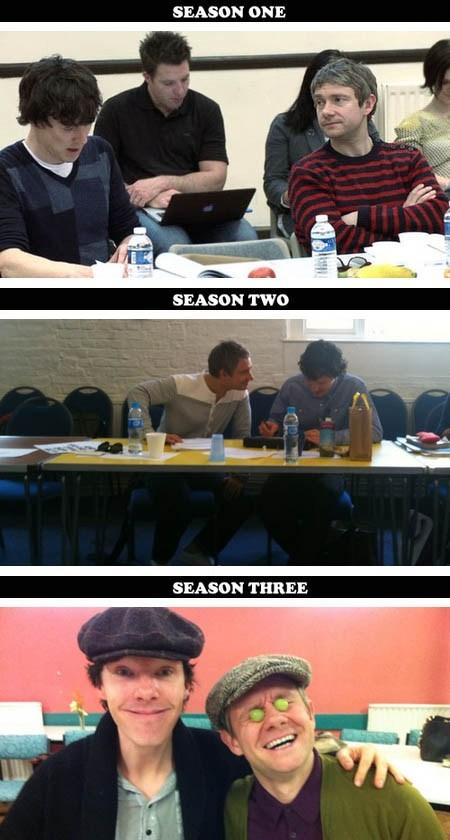 benedict cumberbatch Martin Freeman TV Sherlock - 7129985280