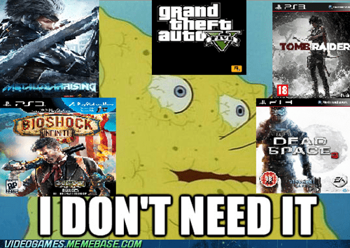 new releases SpongeBob SquarePants Memes video games - 7130010112