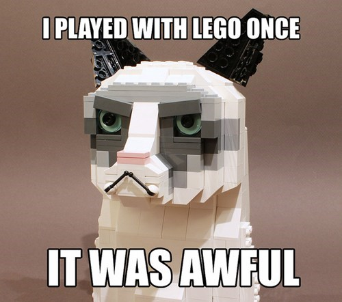 Grumpy Cat,tardar sauce,lego