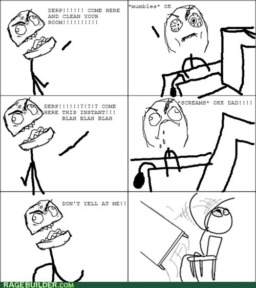 yelling parenting dad Hypocrisy - 7130025216
