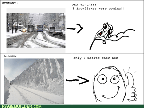 alaska blizzard snow Germany snowstorm - 7130037248