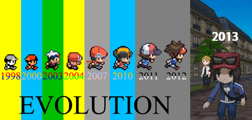 evolution nostalgia generations - 7130041856