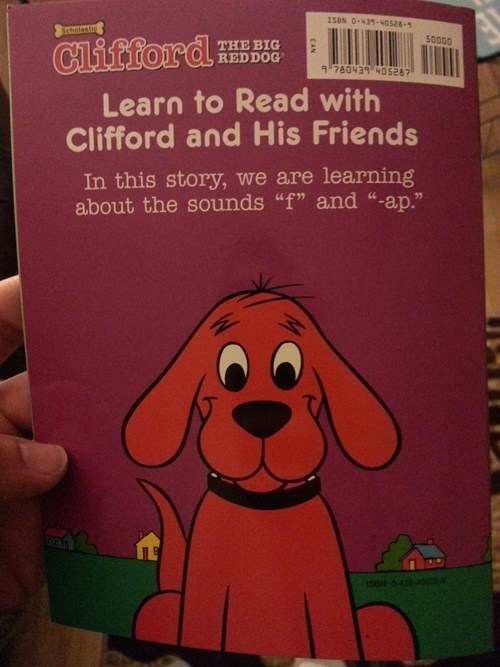 fap clifford the big red dog kids books Clifford g rated Parenting FAILS - 7130123520