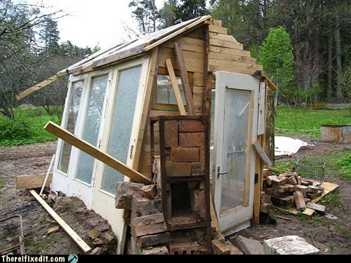 Buy a Shed? No Way!