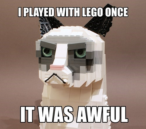 Grumpy Cat lego - 7130452480