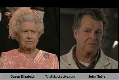 queen elizabeth John Noble totally looks like - 7130457344