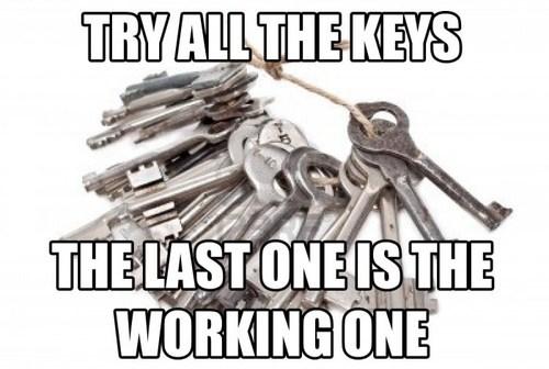 keys First World Problems - 7130489856