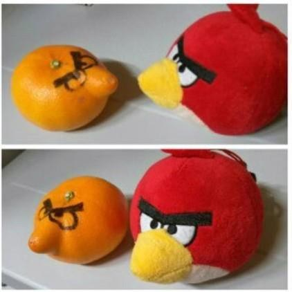 angry birds casual games tangerines noms - 7130893568