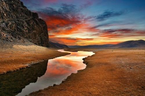 desert,landscape,sunset