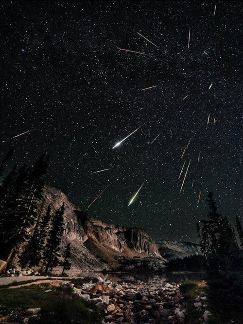 meteor shower time lapse landscape destination WIN! g rated