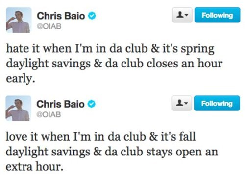 daylight savings,still open,in da club