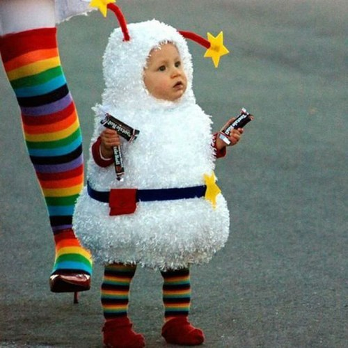 candy,baby costumes,rainbow bright