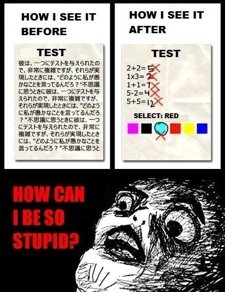 difficult test idiots - 7133095424