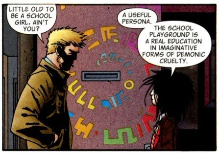 hellblazer,comics,playground,education