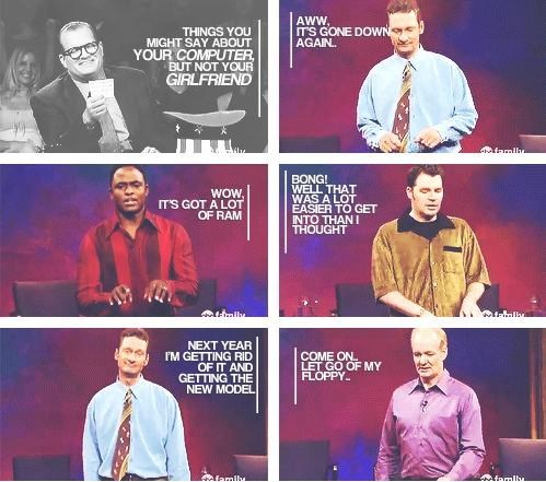computers,tv shows,whose line is it anyway,dating fails
