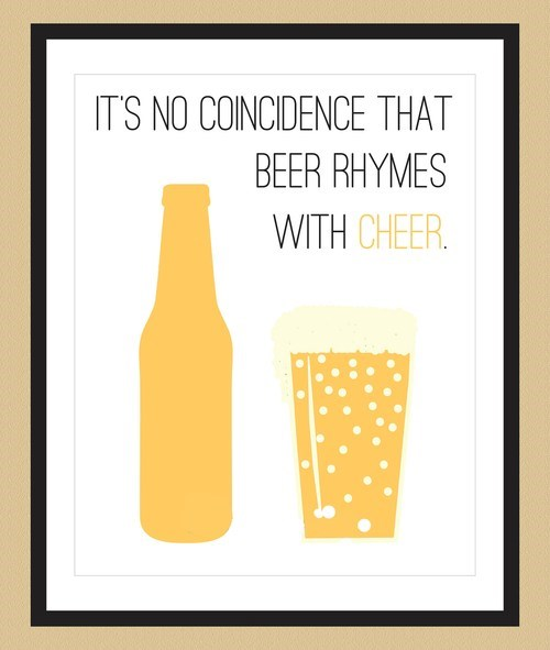 cheer,beer,rhymes