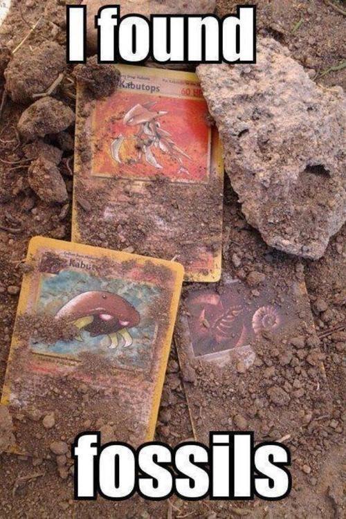 IRL TCG pokemon cards fossils - 7133152000