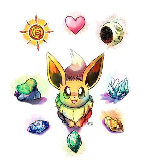 art evolution eeveelutions eevee - 7133160448