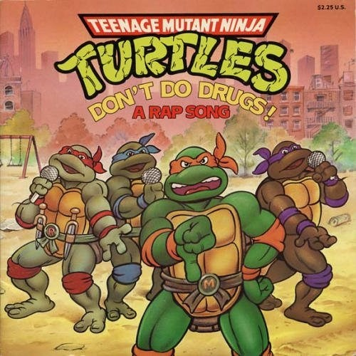 Music drugs TMNT rap CD