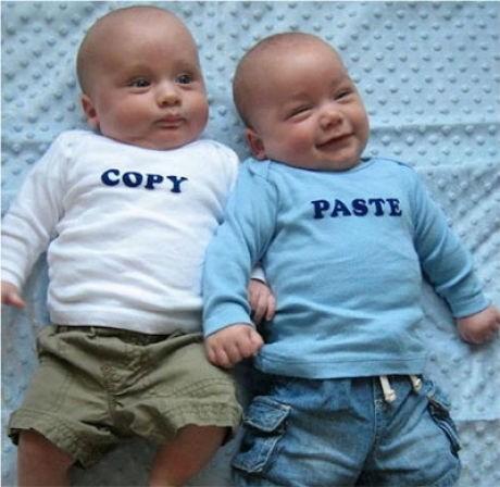 copy paste,twins,shirts