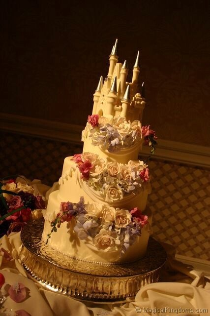 cake princess disney castle