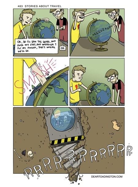 Travel comic