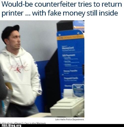 Criminally Dumb Criminal news counterfeit Probably bad News - 7133306112