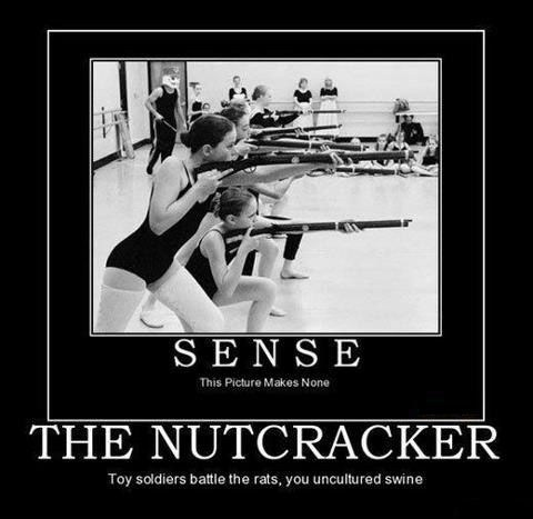 guns The Nutcracker ballet