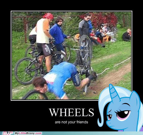 trixie,wheels,very demotivational