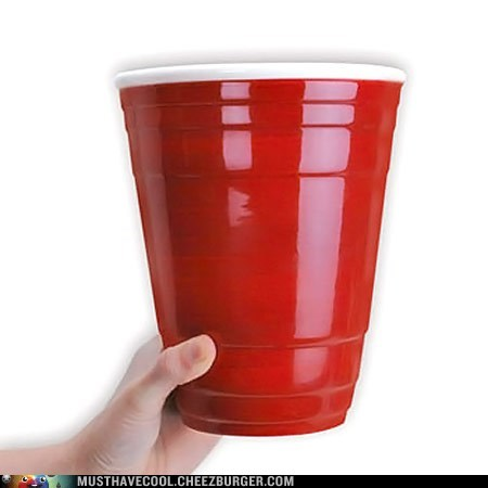 giant red solo cups beer pong - 7133730816