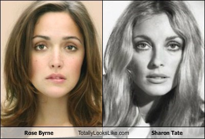 Rose Byrne Totally Looks Like Sharon Tate