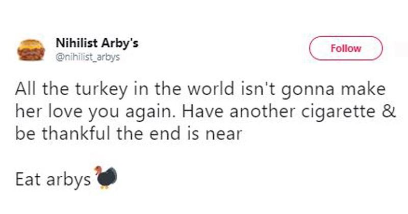 bleak nihilist tweets