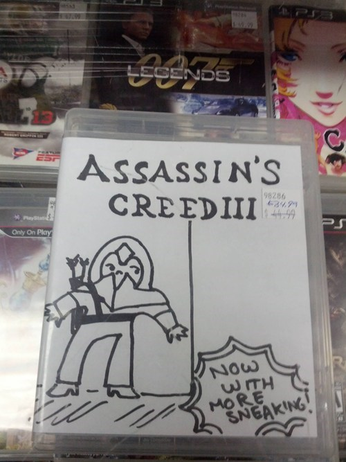 cover art video game assassins creed