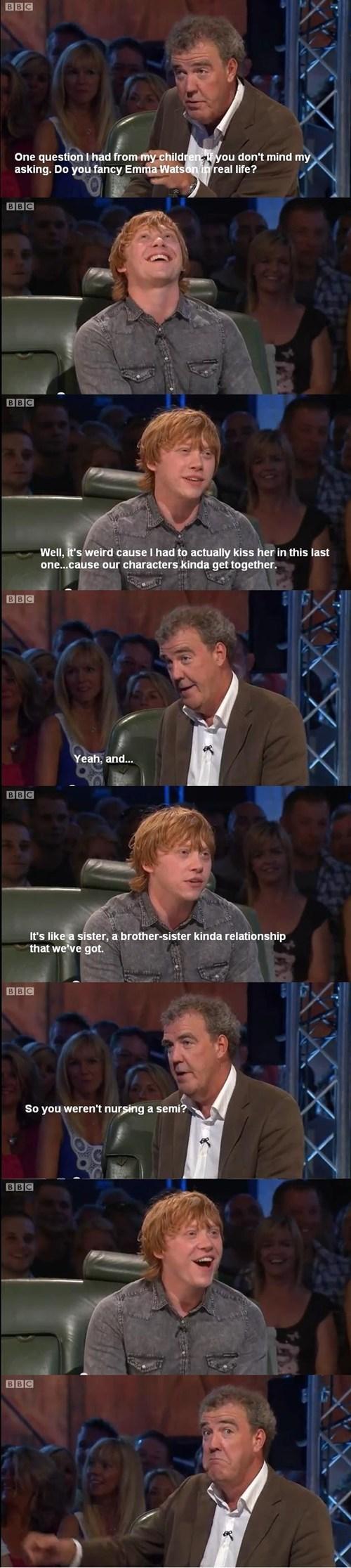 Harry Potter rupert grint emma watson Stephen Fry - 7135199744