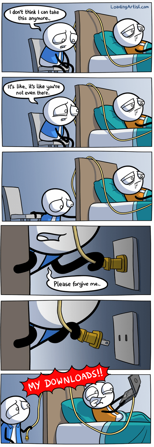 pulling the plug hospitals internet comics - 7135209472