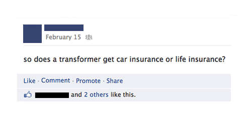 insurance,facebook,Tansformers