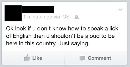 spelling illiterate - 7135404544