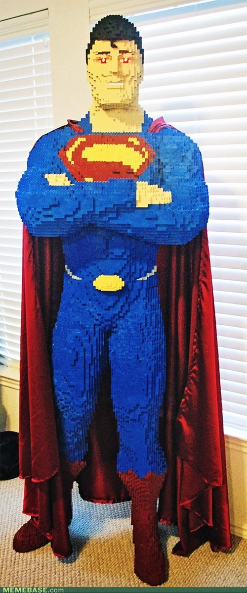 lego awesome superman - 7135445248