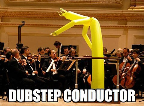 Music dubstep wacky waving inflatable arm flailing tube man - 7135495680